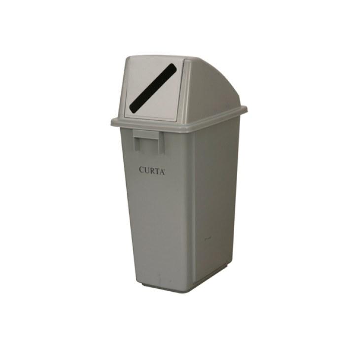 带盖子厨房垃圾桶图片