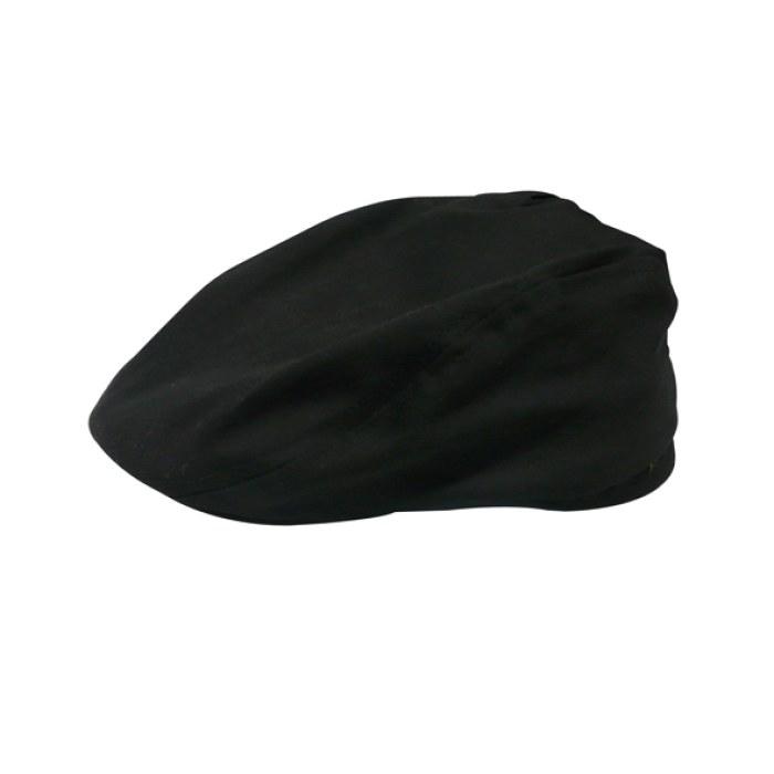 涤卡厨师帽(黑色涤卡鸭舌帽)